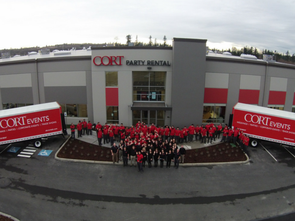 CORT Party Rental Announces New Brand and State-of-the-Art Facility