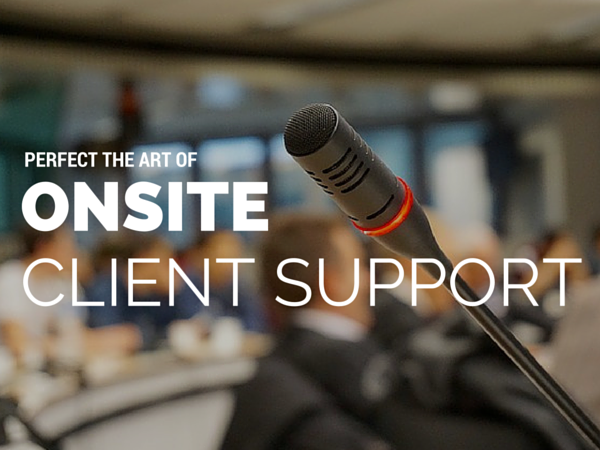 Take PR One Step Farther with Onsite Client Support