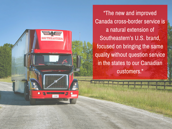 Southeastern Freight Lines Enhances Canada Cross-Border Delivery Service