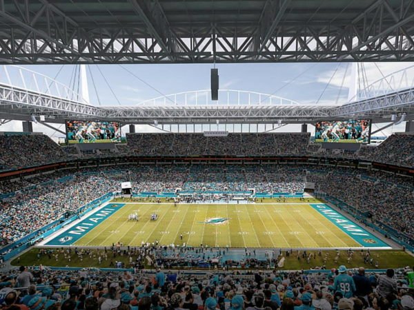 Miami's Sun Life Stadium to Enhance Fan Experience with Eaton's Advanced Ephesus Lighting