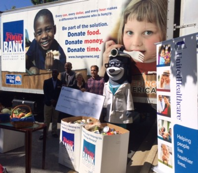 UnitedHealthcare Fights Food Insecurity with Donation to Second Harvest Food Bank
