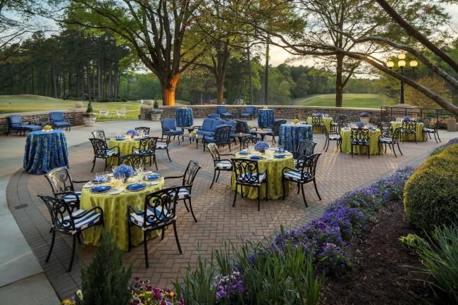 Washington duke inn golf club reveals summer dinner for Terrace on the green