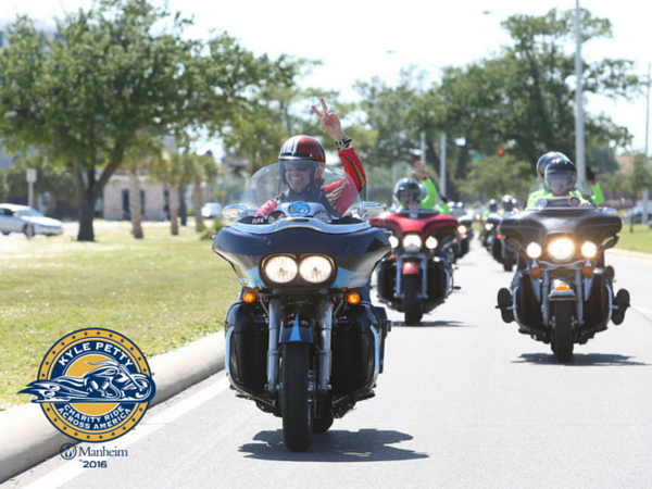 $1 Million Raised by 22nd Anniversary Kyle Petty Charity Ride Across America