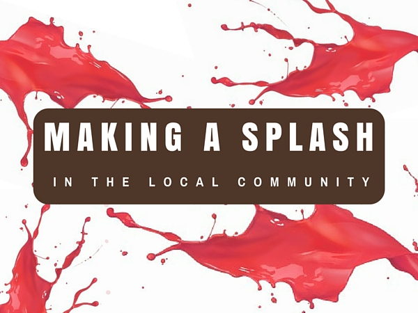 Making a Splash in the Local Community
