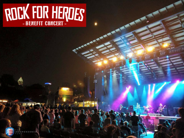 Largemouth Rocks For Heroes in Charlotte