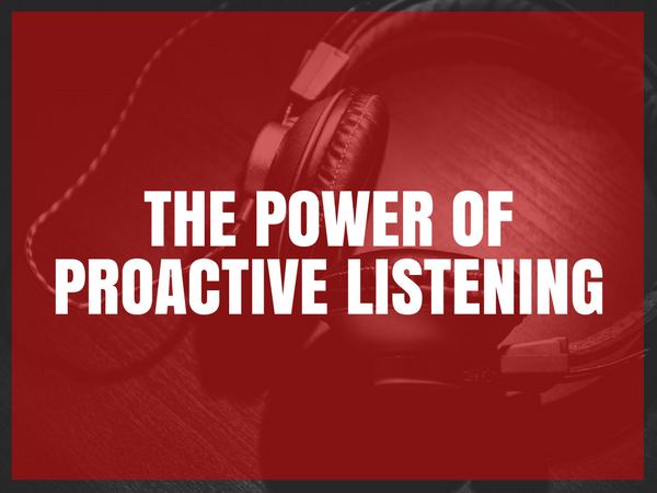 Three Big Advantages of Active Listening in PR