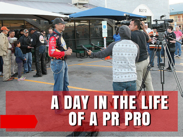 A Day in the Life of a PR Pro